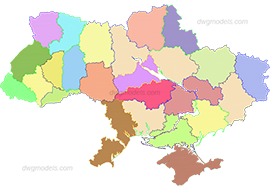 Ukraine 1 dwg, cad file download free.