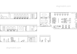 Hairdressing salon 1 dwg, cad file download free