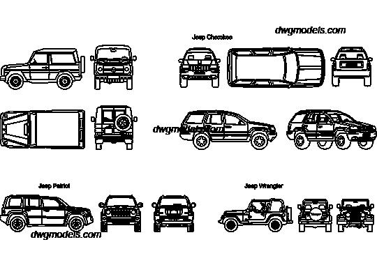 Jeep 1 Dwg Free Cad Blocks Download