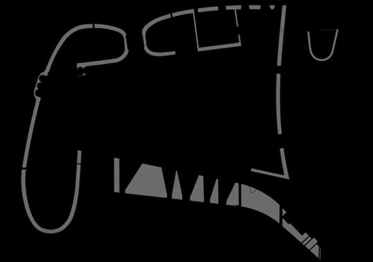 Сhapel in Ronchamp. Le Corbusier DWG, free CAD Blocks download