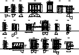 Doors 2 - DWG, CAD Block, drawing.