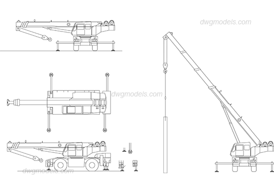 Overhead Crane Autocad Drawing : Overhead crane autocad drawing free download