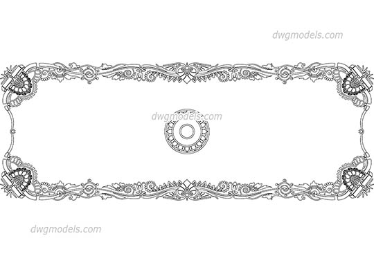 Islamic decorative patterns DWG, free CAD Blocks download