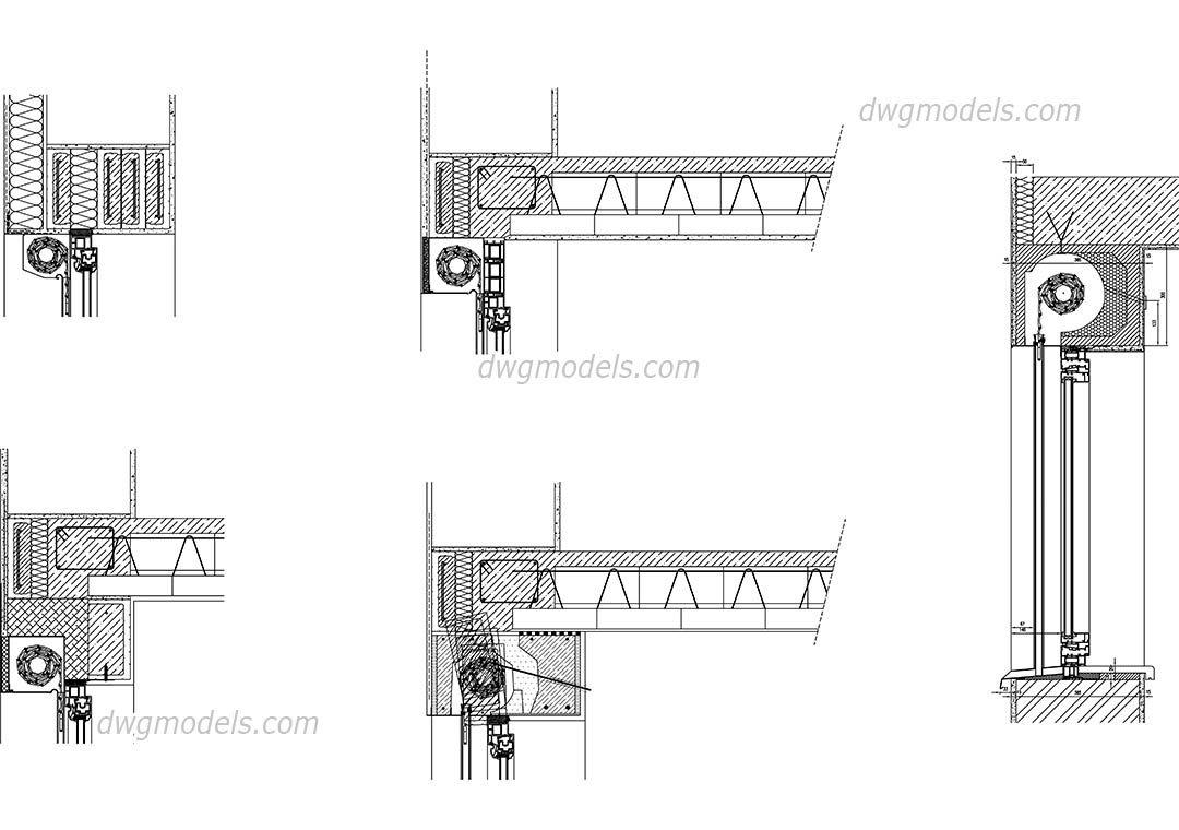 Roller Shutters Dwg Free Cad Blocks Download