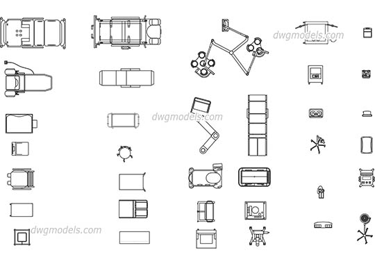 Medical equipment dwg, cad file download free.
