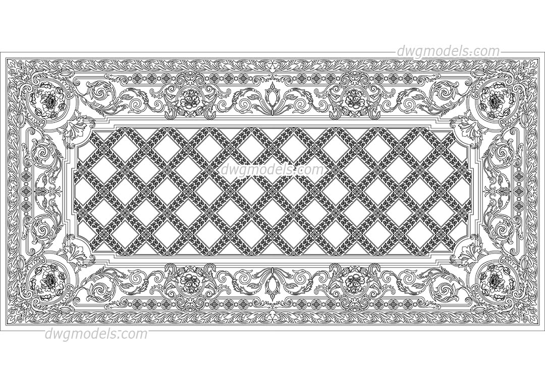 Art Deco Dwg Free Cad Blocks Download