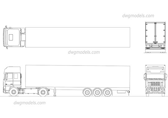 Trucks Cad Blocks Free Dwg Models