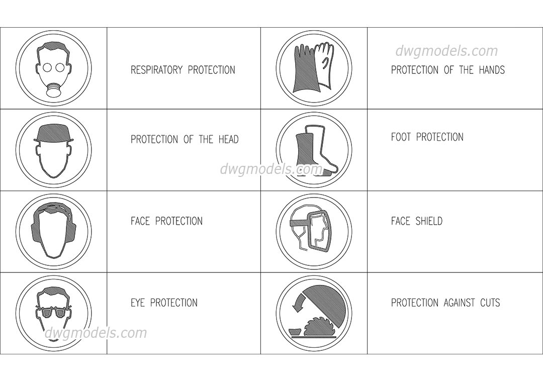 Occupational safety symbols dwg free cad blocks download occupational safety symbols dwg cad blocks free download biocorpaavc Image collections