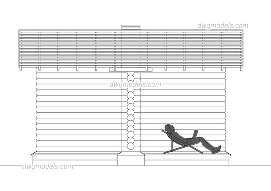 Pergola 1 dwg, cad file download free