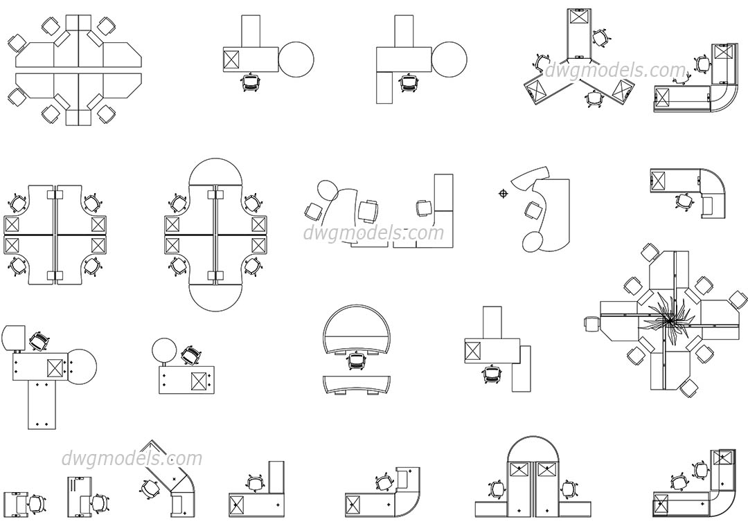 Furniture 12 dwg free cad blocks download for Furniture drawing software free