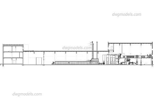 Bakery 1 - DWG, CAD Block, drawing