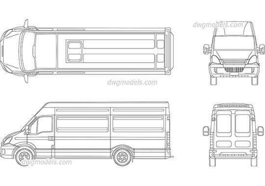 Iveco 1 - DWG, CAD Block, drawing