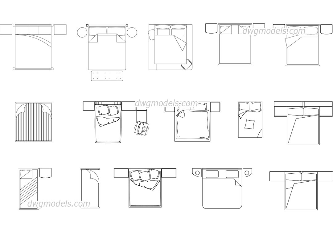Furniture 11 dwg free cad blocks download for Furniture drawing software free