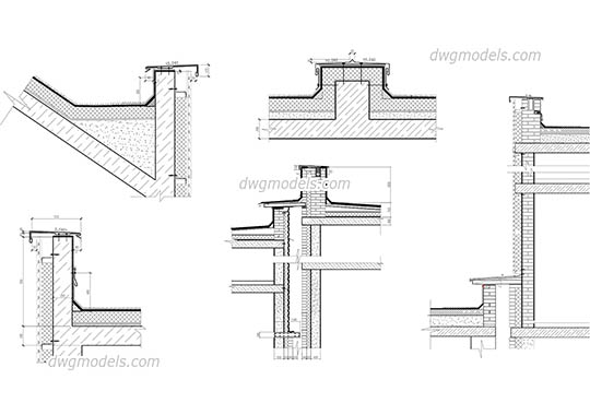 Parapet 1 dwg, cad file download free