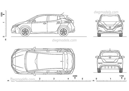 Cars Dwg Models Free Cad Blocks Download
