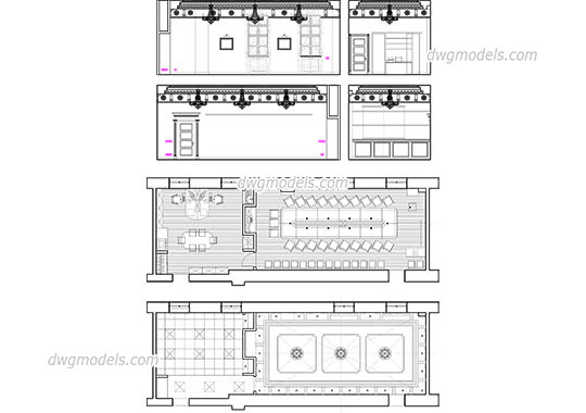 Conference Room dwg, cad file download free.