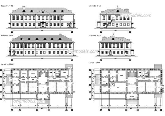 Temples and Churches free DWG models  Free CAD Blocks download